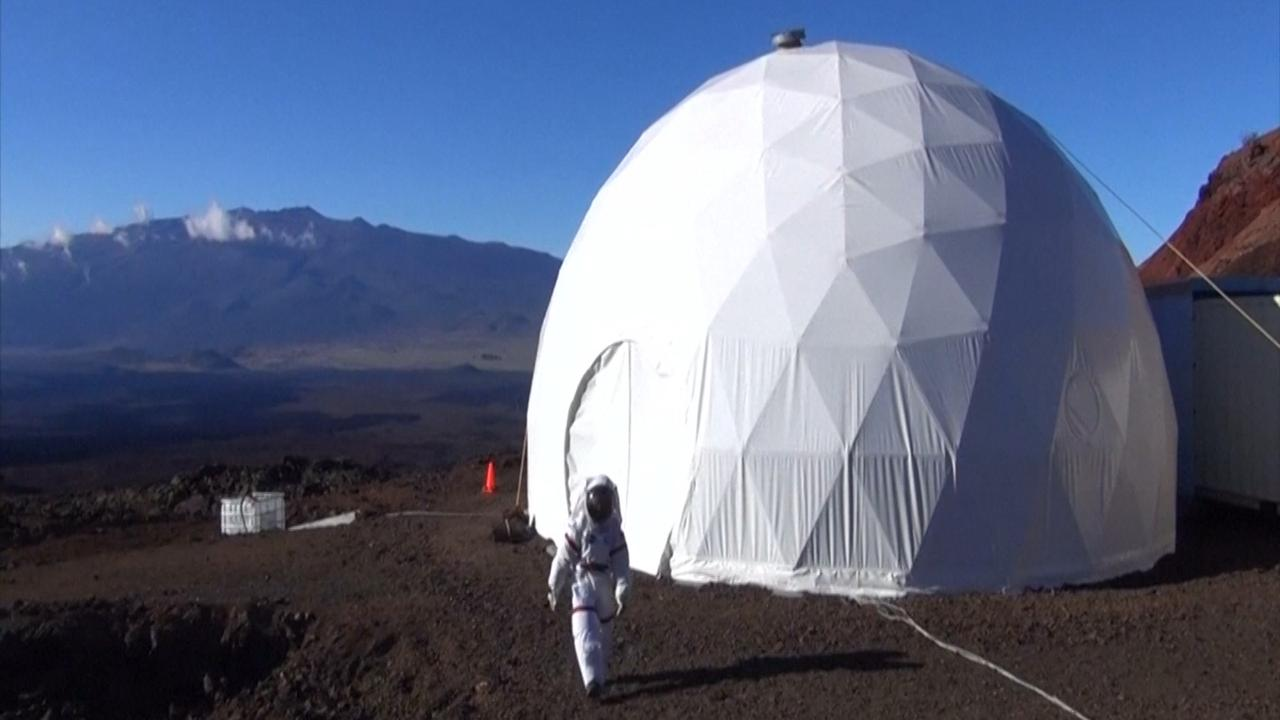 Experiment: Een jaar lang 'wonen' op Mars