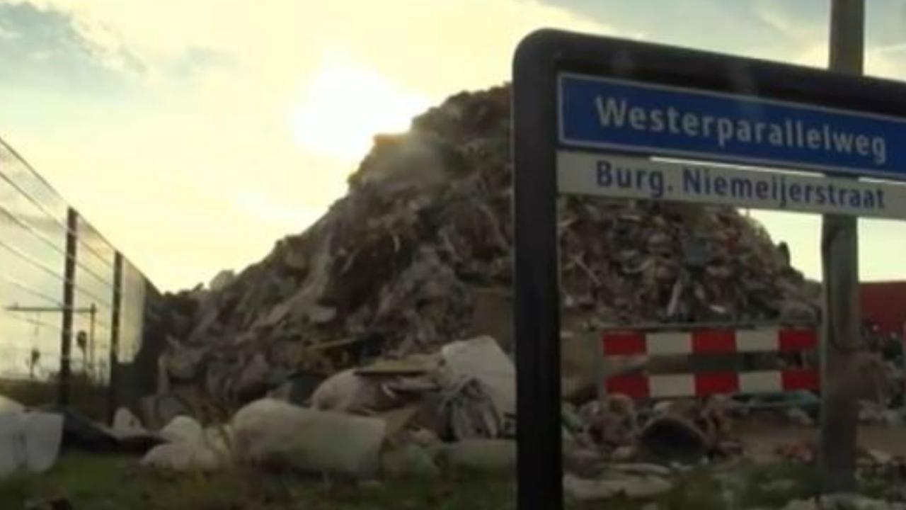 Boze ondernemer dumpt 1000 ton afval op straat