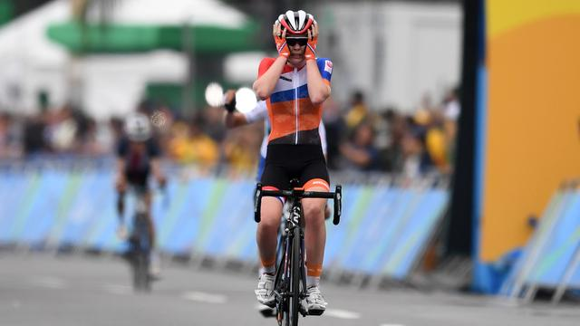 Vijf jaar geleden in Rio de Janeiro pakte Anna van der Breggen goud.