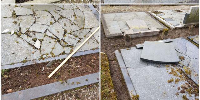 Graven vernield op begraafplaats Diepenheim