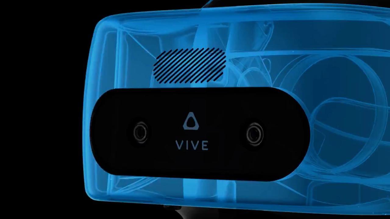 Eerste beelden van zelfstandige VR-bril HTC