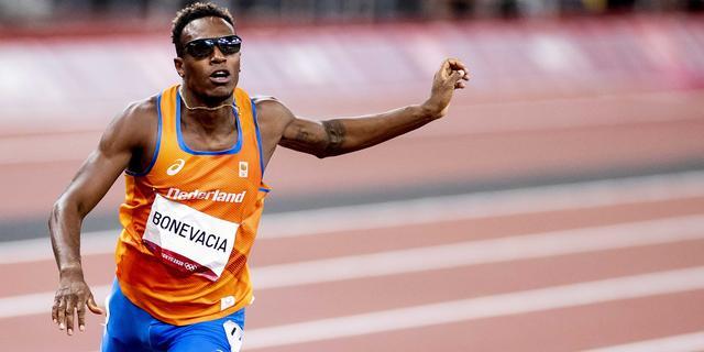 Bonevacia kan niet stunten in finale van 400 meter en wordt achtste