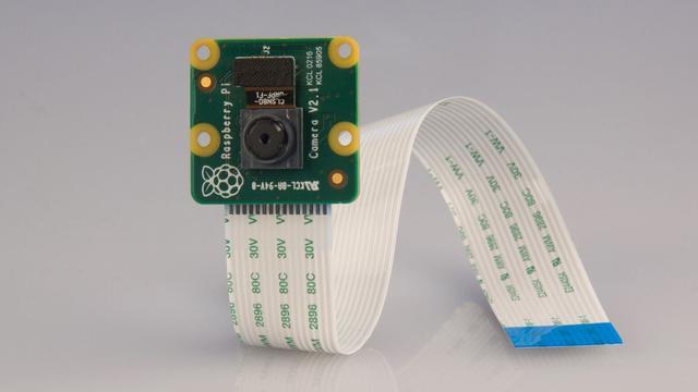 Minicomputer Raspberry Pi krijgt nieuwe cameramodule