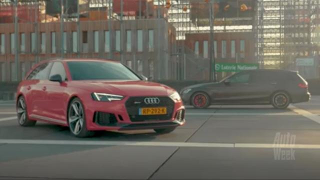 Eerste dubbeltest: Audi RS4 vs. Mercedes-AMG C63S Estate