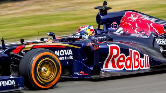 Verstappen richt zich op zeker twee jaar Toro Rosso