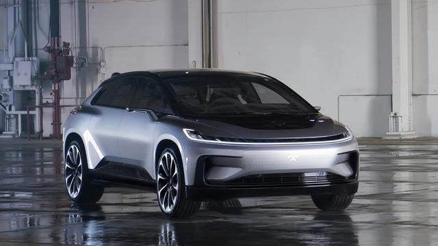 Faraday Future presenteert elektrische auto met zelfrijdfuncties