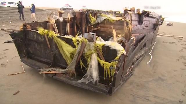 Noord-Koreaans 'spookschip' met lichaam aangespoeld in Japan