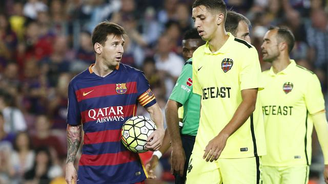 FC Barcelona boekt simpele zege ondanks gemiste strafschop Messi
