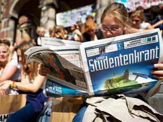 Helft van alle hogescholen en universiteiten heeft geen krant meer