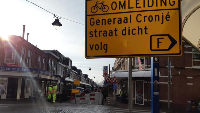 Generaal Cronjéstraat afgesloten vanwege vervuilde waterleidingen