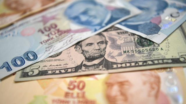 Turkse lira sleept Europese beurzen mee omlaag