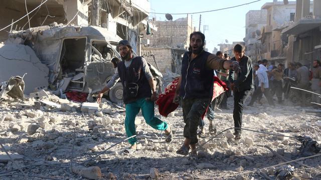 Luchtaanvallen in Aleppo na drie dagen staakt-het-vuren