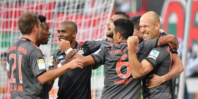 Robben leidt Bayern naar winst, Juventus te sterk voor Napoli