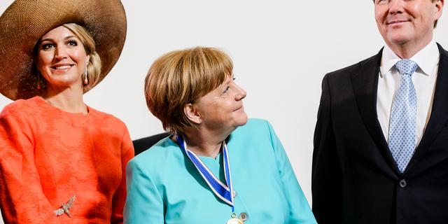 Merkel krijgt Four Freedoms Award uitgereikt voor leiderschap