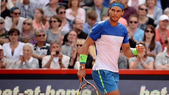 Nadal treft Fognini in finale ATP-toernooi Hamburg