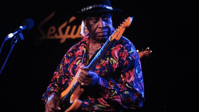 Bluesgitarist Long John Hunter (84) overleden