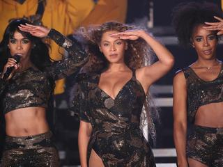 Beyoncé wilde zus optillen