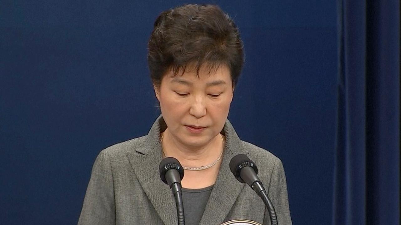 President Zuid-Korea vraagt parlement te beslissen over aftreden