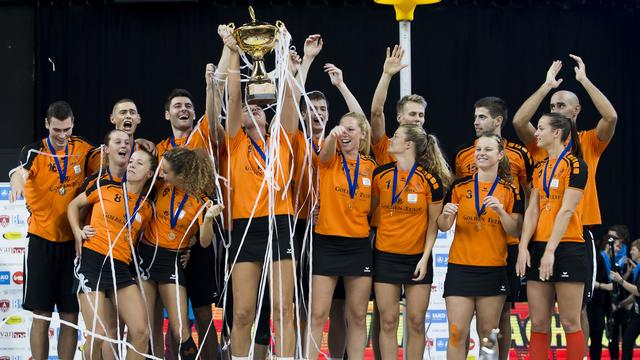 Nederland verslaat België in finale WK korfbal