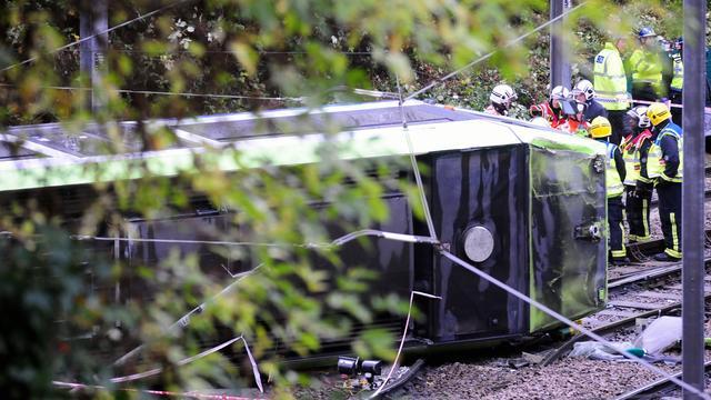 Londense tram reed veel te hard voorafgaand aan dodelijk ongeluk