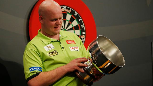 Van Gerwen treft Cross ook in groepsfase Grand Slam of Darts