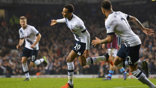 Spurs houdt Engelse top in zicht door zege op Aston Villa