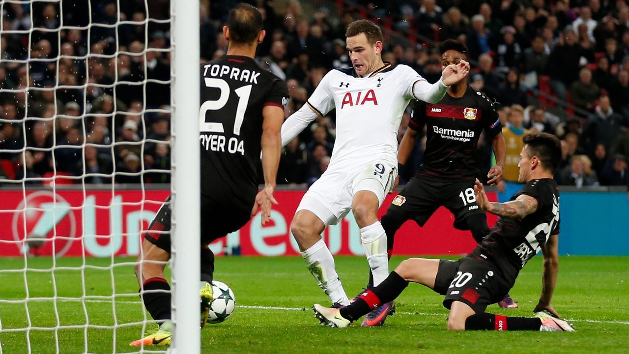 Samenvatting Tottenham-Leverkusen (0-1)