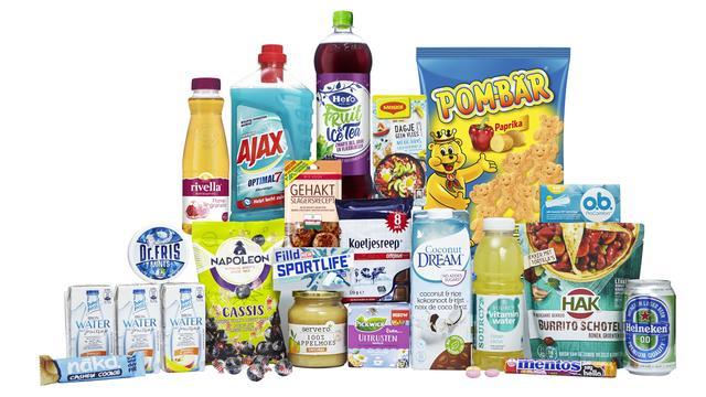 Boodschappen box met 20 producten voor slechts 14,95 euro