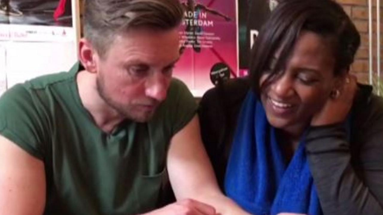 Koos van Plateringen en Edsilia Rombley over songfestivalliedje O'G3ne