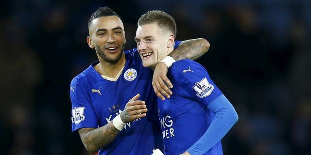 Topscorer Vardy verlengt contract bij Leicester City tot medio 2019