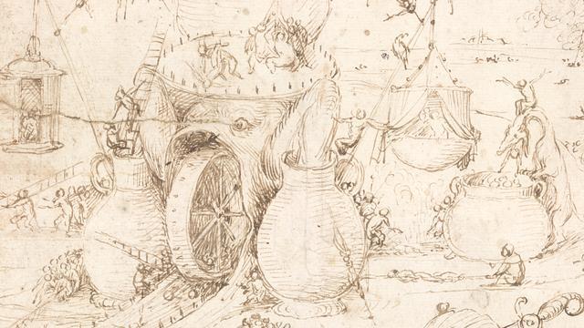 Nieuwe tekening Jeroen Bosch ontdekt