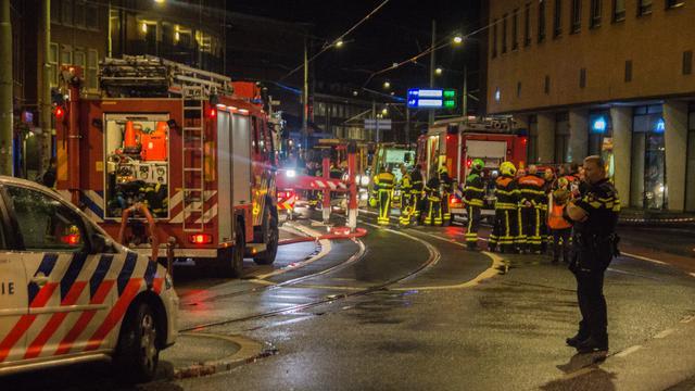 Buren afgebrand huis Den Haag nog niet terug