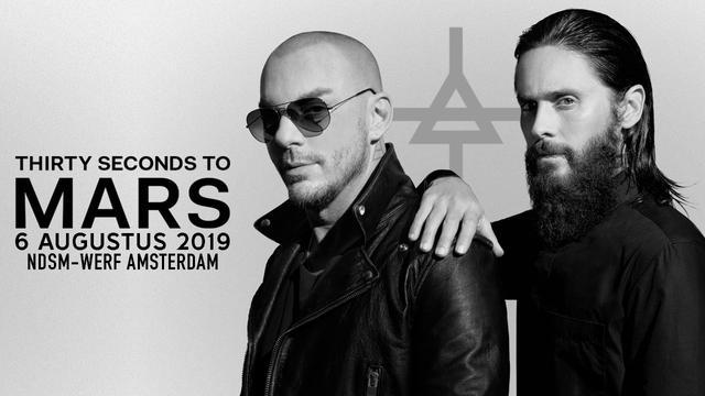 Thirty Seconds To Mars tickets voor 49,50 euro inclusief Bol.com-cadeaukaart