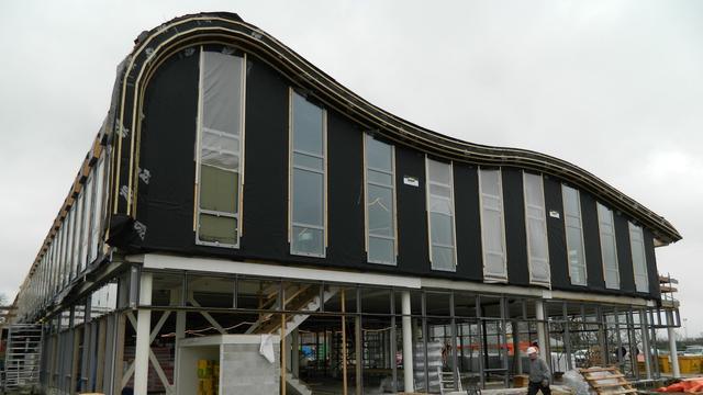 Constructie 't Saamdeel in Kapelle volgens gemeente veilig