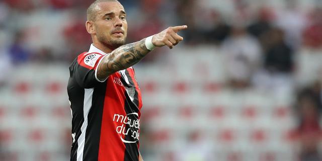 Sneijder in basis OGC Nice voor return tegen Napoli in play-offs CL
