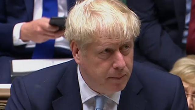 'Britse premier Johnson vraagt alsnog om Brexit-uitstel bij geen deal'