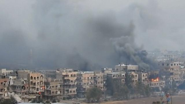 Syrisch leger beschiet laatste IS-bolwerk bij Damascus