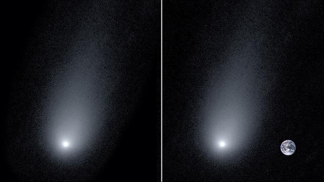 Astronomen maken nieuwe 'close-up' van komeet uit ander planetenstelsel