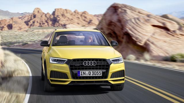 Audi Q3 opgewaardeerd