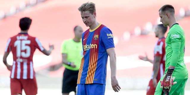 Schreuder blijft geloven in titel met Barcelona: 'We geven niet op'