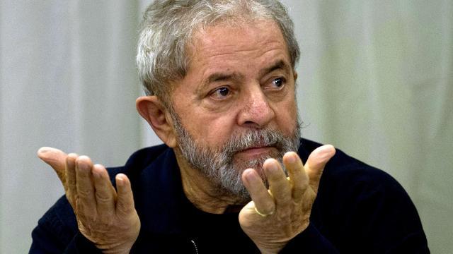 Braziliaanse oud-president Lula weigert zich bij politie te melden