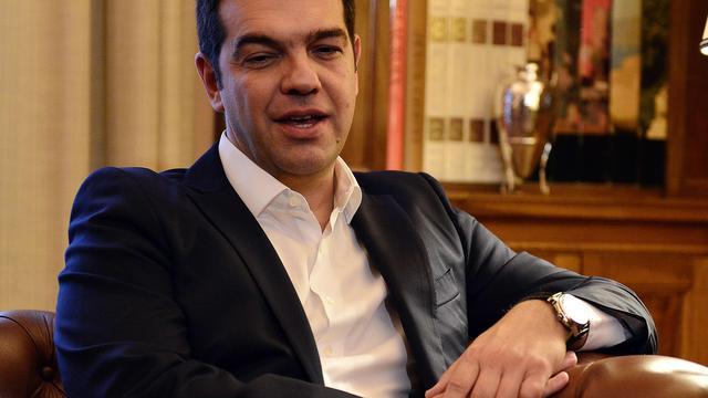 Tsipras voor de tweede keer ingezworen als Griekse premier