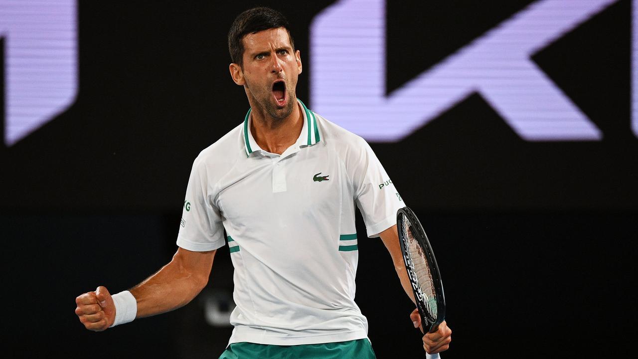 Djokovic maakt einde aan sprookje Karatsev en bereikt Australian Open-finale - NU.nl