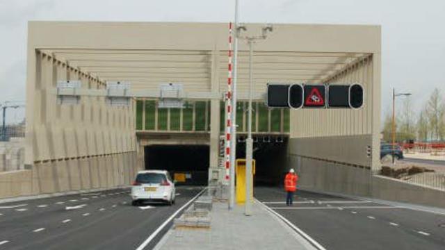 Stadsbaantunnel bij Leidsche Rijn in ieder geval tot maandag gesloten