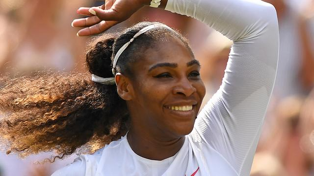 Williams verbaasd over 'reuzenstap' na bereiken Wimbledon-finale