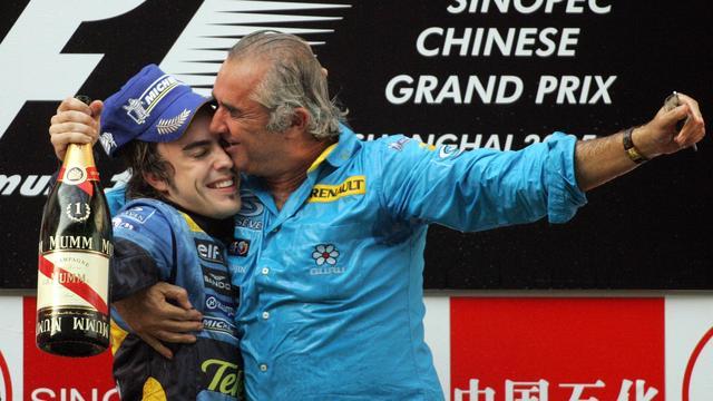 Alonso werd in 2005 voor het eerst wereldkampioen