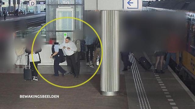 Zwartrijder slaat conducteur (63) bewusteloos op station Breda