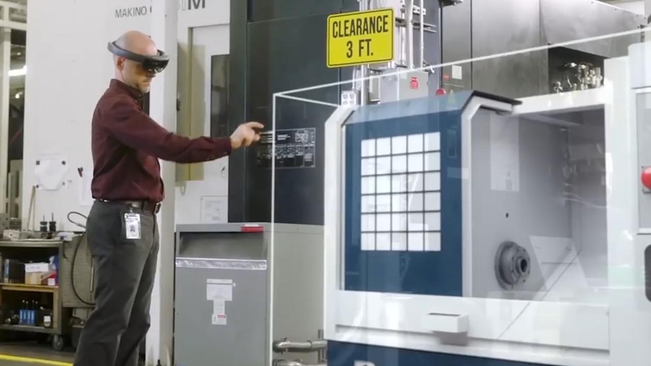 HoloLens-headset helpt gebruikers bij inrichten werkruimte