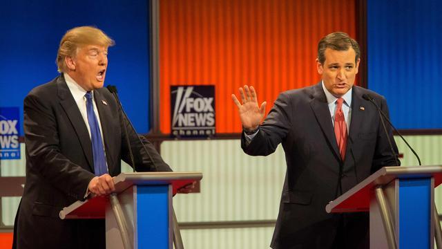 Senator Ted Cruz steunt Trump bij presidentsverkiezingen VS