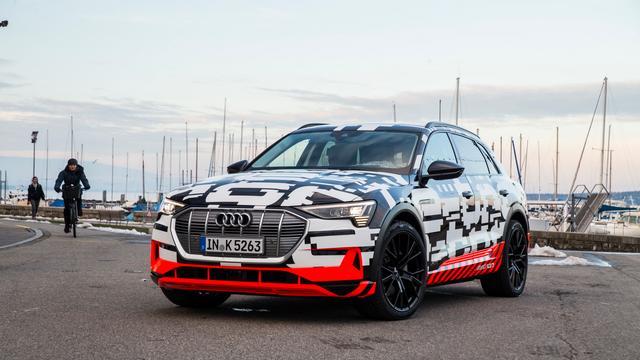 Groot aantal Noorse reserveringen elektrische Audi e-tron